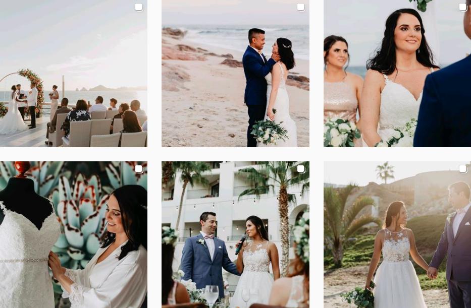 Daniela Ortiz Cabo Wedding Photographer Instagram Profile