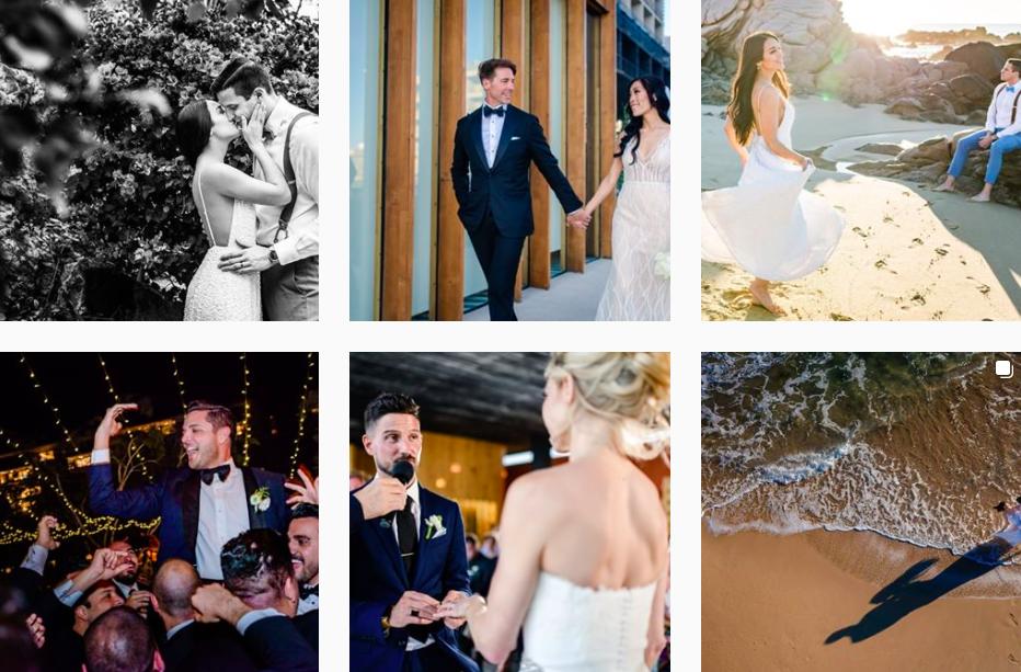 Gonzalo Verdeja Cabo Wedding Photographer Instagram Profile