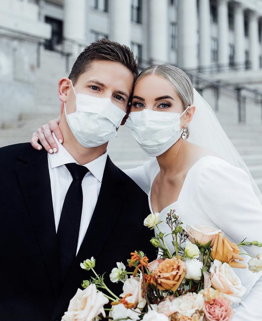 Couple suffered rescheduled of their wedding because of the Coronavirus