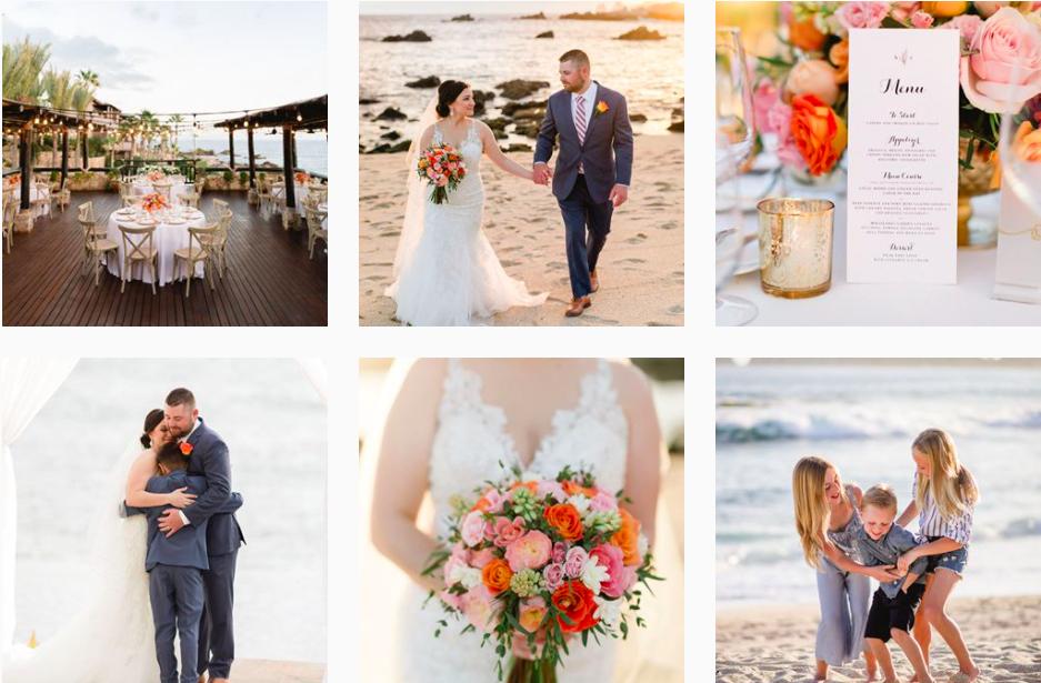 Sara Richardson Cabo Wedding Photographer Instagram Profile